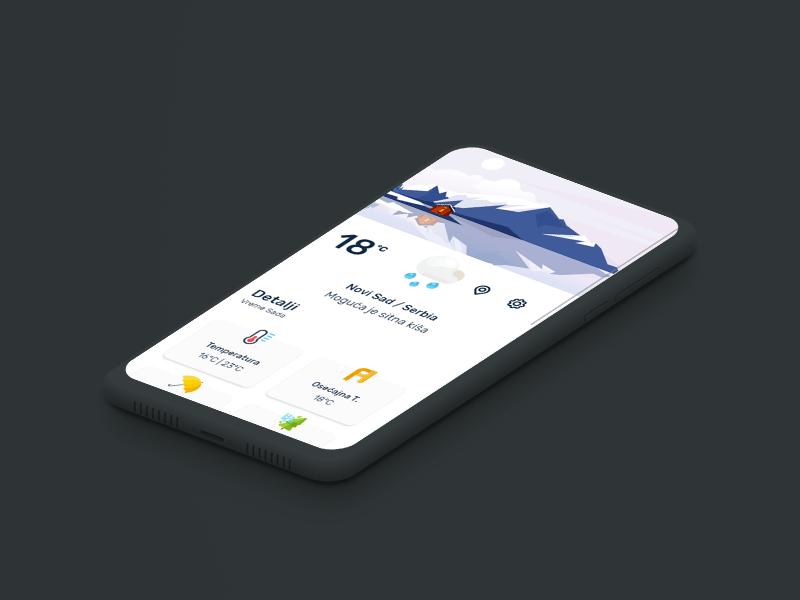 Oblakomer - Forecast Android App